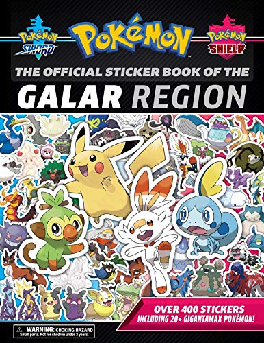 9781604382082: The Official Pokémon Sticker Book of the Galar Region