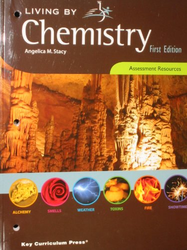 9781604400373: Living By Chemistry (Assessment Resources)