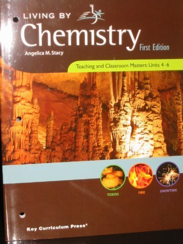 Living By Chemistry, Teaching and Classroom Masters: Stacy, Angelica M.