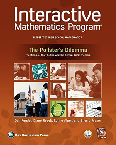 Imp 2e Year 4 the Pollsters Dilemma Unit Book: Diane Resek