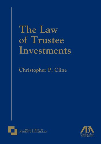 9781604423563: The Law of Trustee Investments