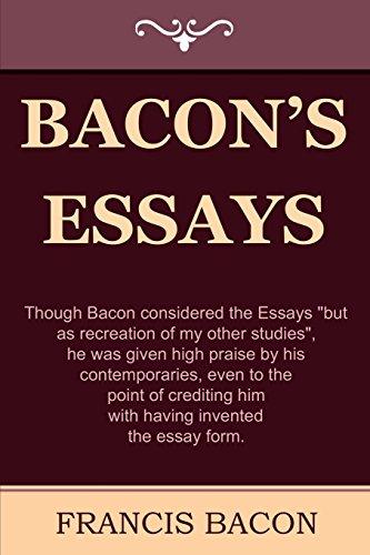 9781604441574: Bacon's Essays
