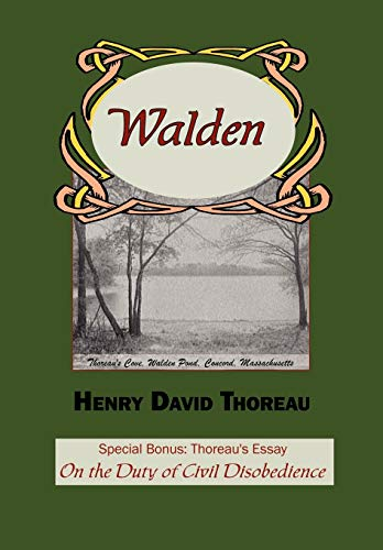 9781604500196: Walden with Thoreau's Essay on the Duty of Civil Disobedience