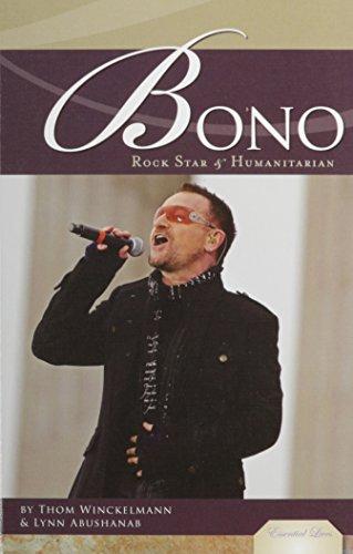 9781604536980: Bono: Rock Star & Humanitarian (Essential Lives)