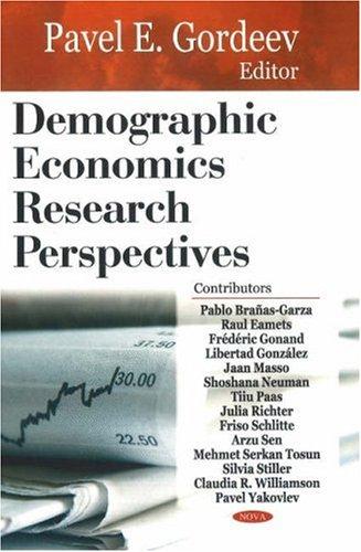 Demographic Economics Research Perspectives