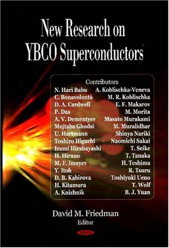 9781604560848: New Research on Ybco Superconductors