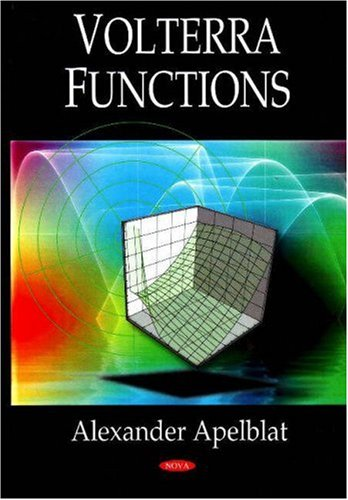 9781604561692: Volterra Functions