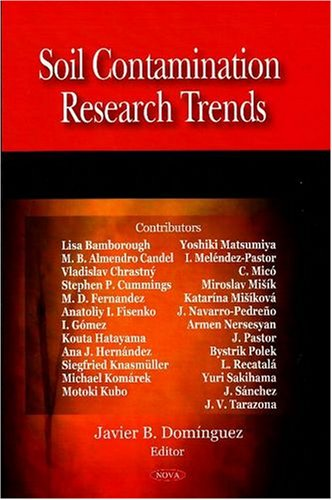 9781604563191: Soil Contamination Research Trends