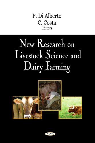9781604565560: New Research on Livestock Science and Dairy Farming