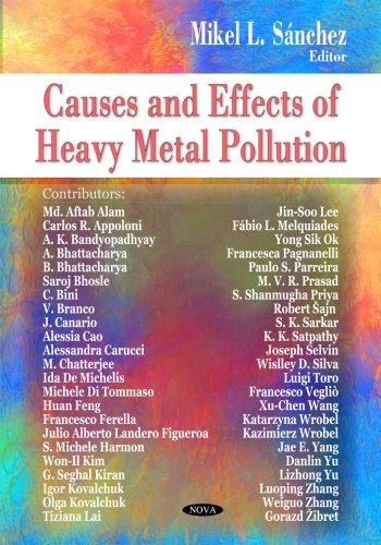9781604569001: Causes and Effects of Heavy Metal Pollution