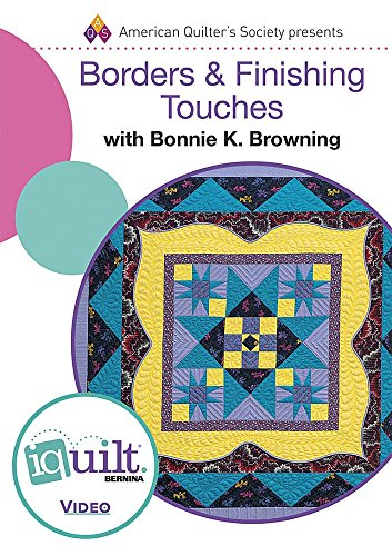 9781604603408: DVD - Borders & Finishing Touches: Complete Iquilt Class
