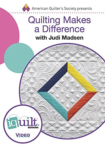 9781604603415: DVD - Quilting Makes a Difference - Complete Iquilt Class