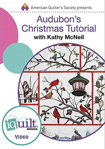 9781604603422: DVD - Audubons Christmas Tutorial - Complete Iquilt Class (IQ Quilt)