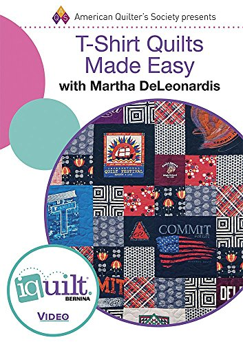 9781604603446: DVD - T-shirt Quilts Made Easy: Complete Iquilt Class