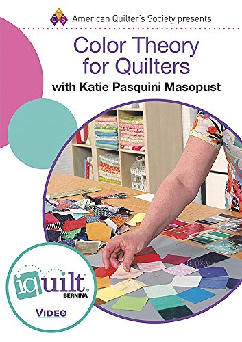9781604603521: DVD - Color Theory for Quilters: Complete Iquilt Class (IQ Quilt)