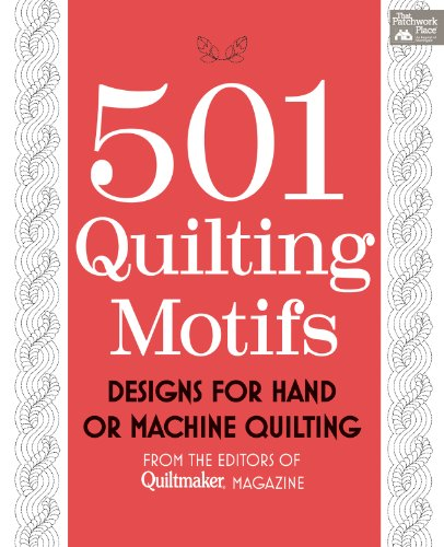 9781604680546: 501 Quilting Motifs: From the Editors of Quiltmaker Magazine