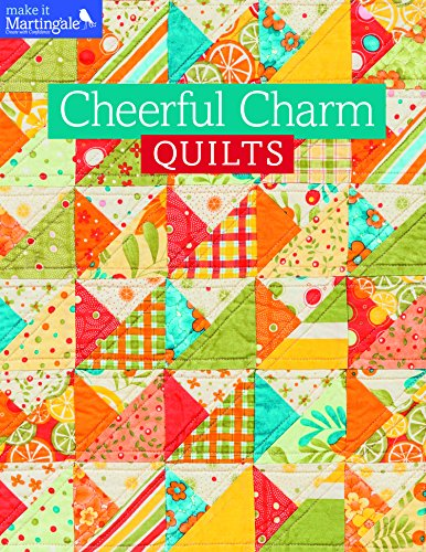 9781604683431: Cheerful Charm Quilts (Make It Martingale)