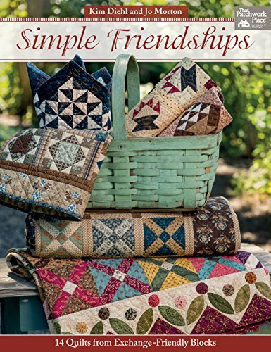 9781604687354: Simple Friendships: 14 Quilts from Exchange-Friendly Blocks