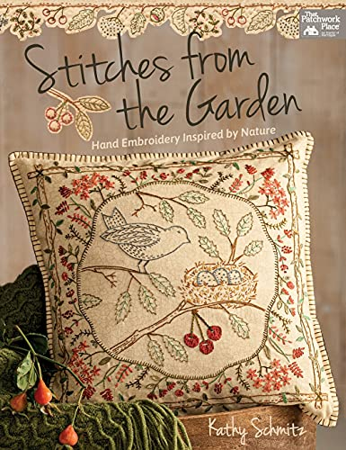 9781604687767: Stitches from the Garden: Hand Embroidery Inspired by Nature