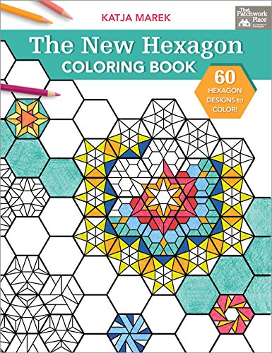 9781604688610: The New Hexagon Coloring Book