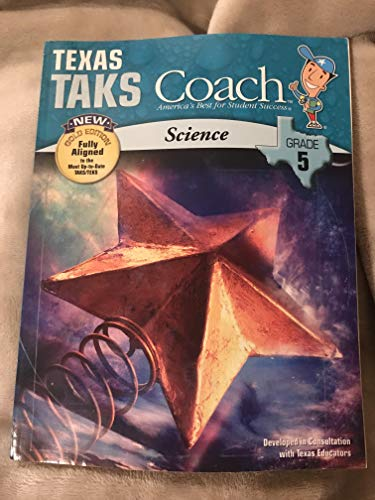 9781604710359: Texas TAKS Coach, New Gold Edition, Science, Grade 5 (Coach, America's Best for Student Success)