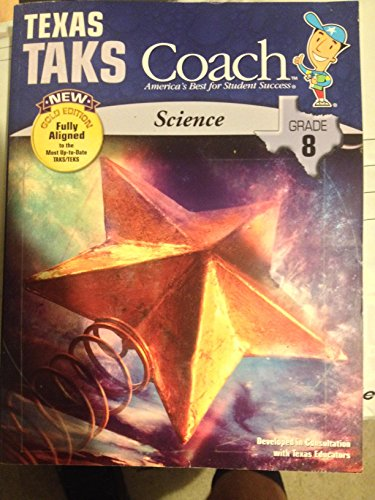 9781604710366: Texas TAKS Coach, New Gold Edition, Science Grade 8