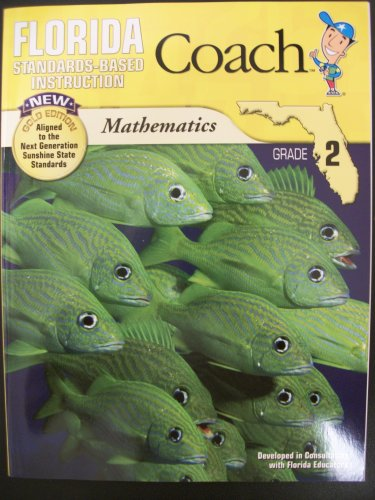 9781604716658: Florida Coach Math (Standards-Based Instruction, Gold Edition)