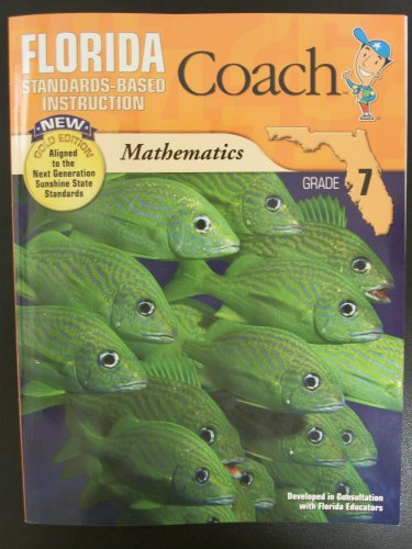 9781604716702: Florida Coach Math (Standards-Based Instruction, Gold Edition)