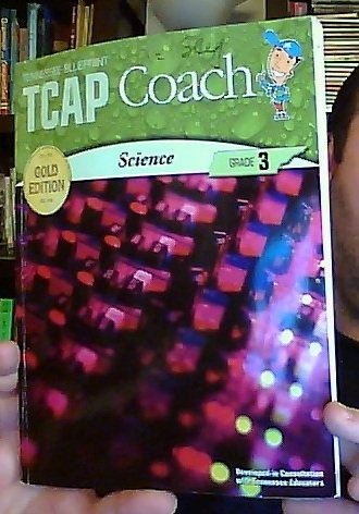 9781604717778: Tennessee Blueprint TCAP Coach, Science, Grade 3, Gold Edition (Student Book)