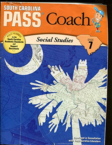 9781604718720: South Carolina PASS Coach Social Studies Grade 7