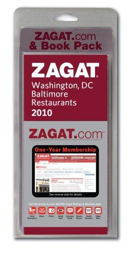 9781604782059: 2010 Washington DC Zagat.com & Book Pack