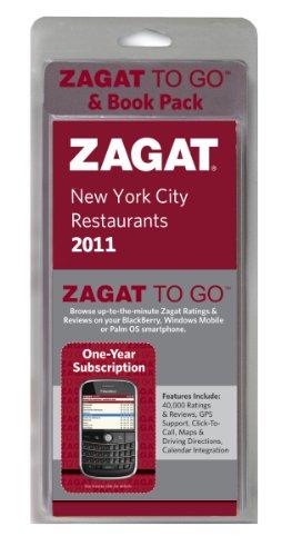 Zagat 2011 New York City Zagat To Go & Book Pack