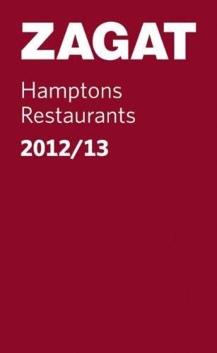 9781604784497: 2012/13 Hamptons Restaurants (Pocket Guide) (Zagat Guides)