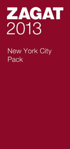 2013 New York City Pack (Zagat New York City Pack): ZAGAT
