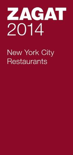 9781604785739: 2014 New York City Restaurants (Zagat Survey New York City Restaurants)