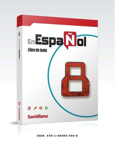 9781604847048: Español 8 Texto Santillana (Español 8 Texto) Isbn: 9781604847048