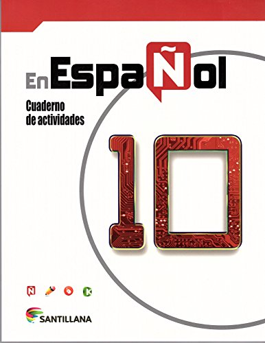 9781604847499: En Español 10 Santillana Cuaderno De Actividades