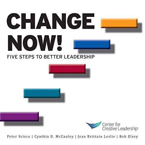 Change Now! Five Steps to Better Leadership: Kanaga, Kim; Leslie, Jean Brittain; Scisco, Peter