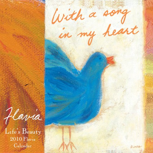 Flavia Tapestry: Life's Beauty 2010 Mini Calendar (1604933089) by Flavia