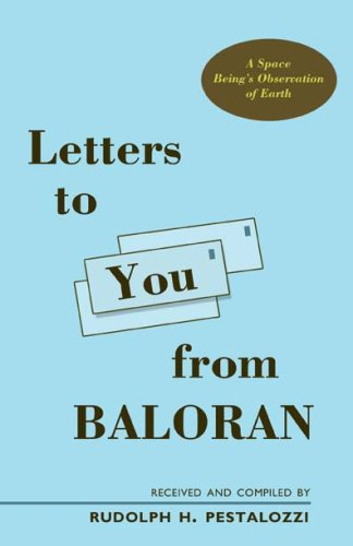 Letters to You from Baloran: Rudolph H. Pestalozzi
