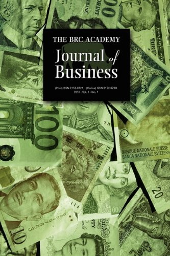 9781604976885: The BRC Academy Journal of Business