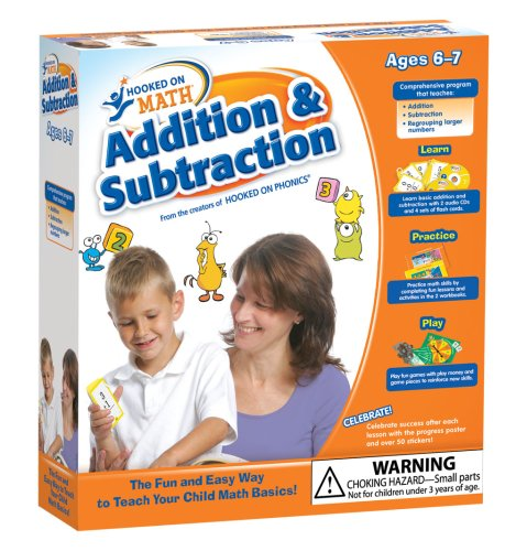 Hooked on Math: Addition & Subtraction: Hooked on Phonics