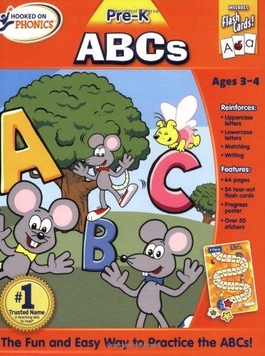 9781604990911: Hooked on Phonics ABCs: Premium Workbook (Hooked on Phonics (Paperback))