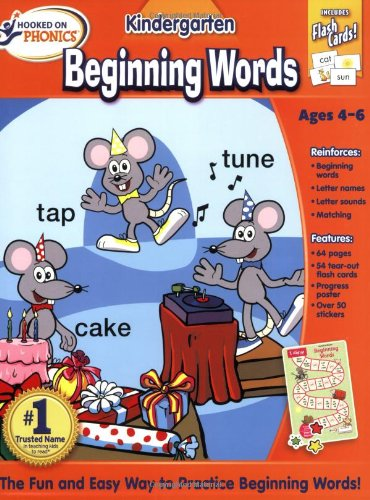 9781604990928: Hooked on Phonics Beginning Words Premium Workbook