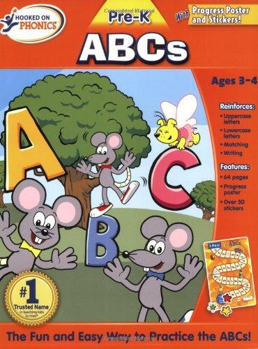 9781604991246: Hooked Phonics Pre-K ABCs Workbook (Hooked on Phonics (Paperback))