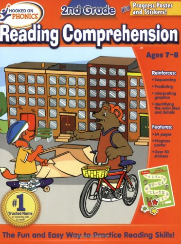9781604991284: Hooked On Phonics 2nd Grade Reading Comprehension Workbook