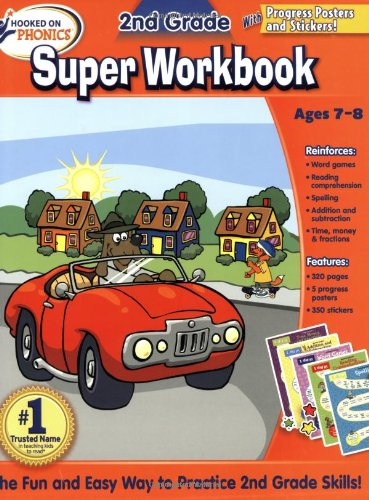 9781604991321: Hooked on Phonics 2nd Grade Super Workbook (Hooked on Phonics (Paperback))