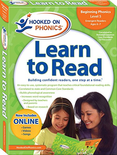 9781604991444: Hooked on Phonics Learn to Read First Grade: Building Confident Readers, One Step at a Time (Hooked on Phonics: Level 1)
