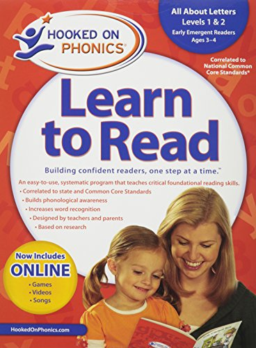 9781604991772: Amazon Exclusive Hooked on Phonics Learn to Read Pre-K Complete with BONUS
