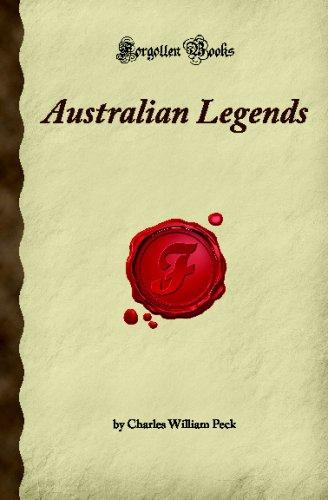 9781605060897: Australian Legends (Forgotten Books)